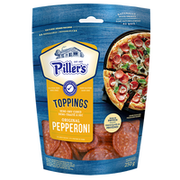 Pillers Pepperoni Toppings 250g
