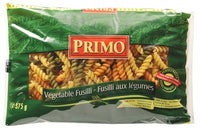 Primo Vegetable Fusilli Pasta 375 G