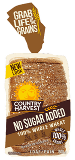 Country Harvest Bread, Whole Grain  675g