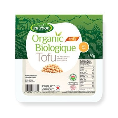 Ph Food Organic Tofu Extra Firm 450G