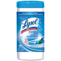 Lysol Disinfecting Wipes Waterfall Scent 80 pack