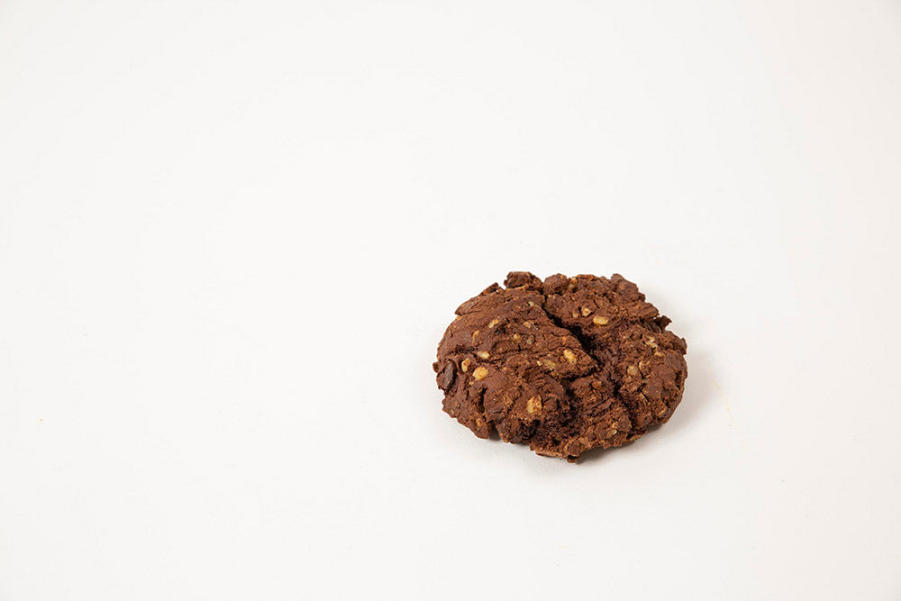 Dozen GF Double Chocolate Walnut Cookies