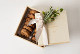 Dozen Cookies in Wooden Box