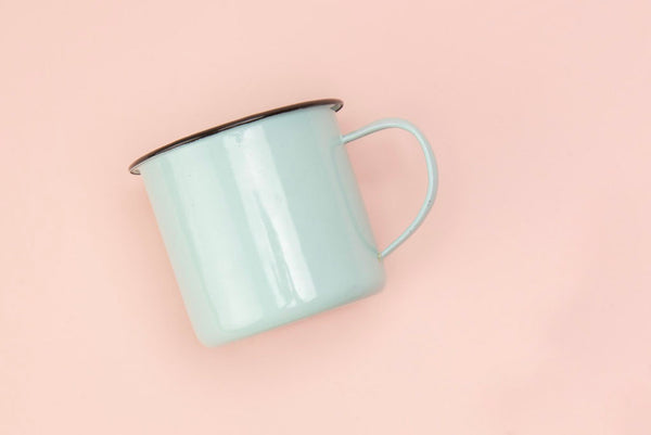 Enamelware Mug in Signature Mint