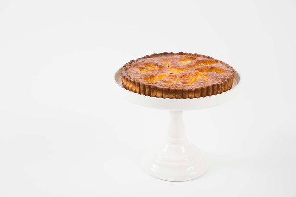 Strawberry Rhubarb <br>Frangipane Tart