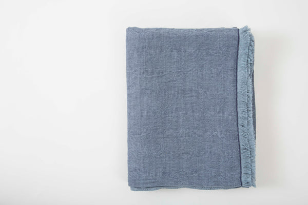 Chambray Gauze Blanket