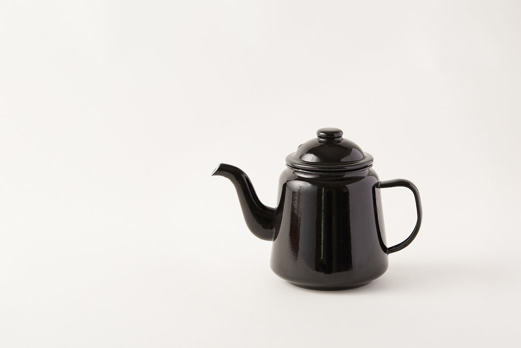 Falcon Coal Black Teapot