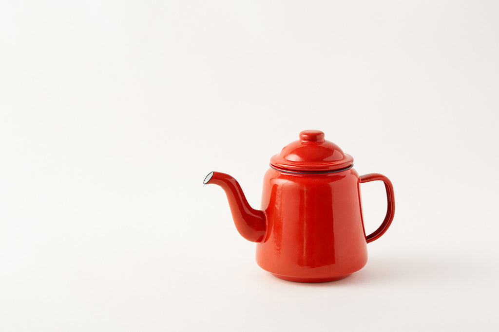 Falcon Pillarbox Red Teapot