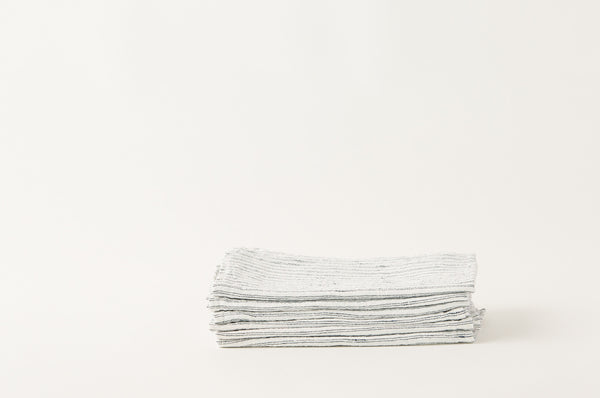 French Linen Double Stripe Napkins