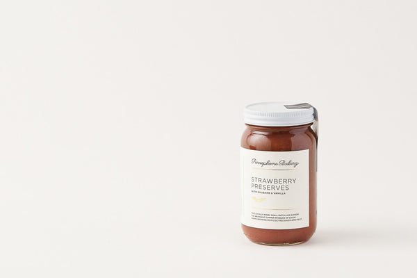 Persephone Bakery Strawberry Rhubarb Jam