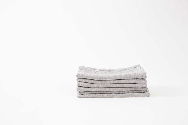 French Linen Stone Napkins