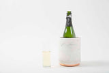 Hawkins Marble and Brass Wine Chiller