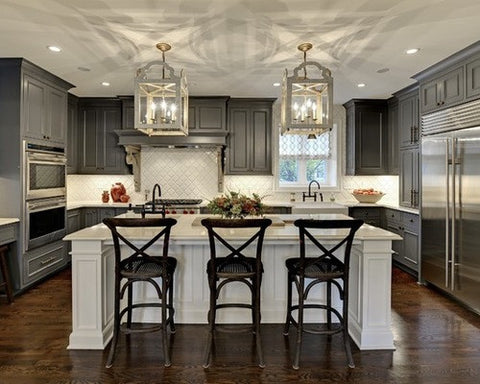 Traditional Kitchens. Traditional Kitchens Are Defined By Their Details,  Which Can Include Arches, Decorative Moldings And Corbels, Raised Panel  Cabinets, ...
