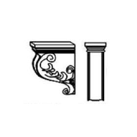 Decorative Corbel CORBEL57 Signature Brownstone (SB)