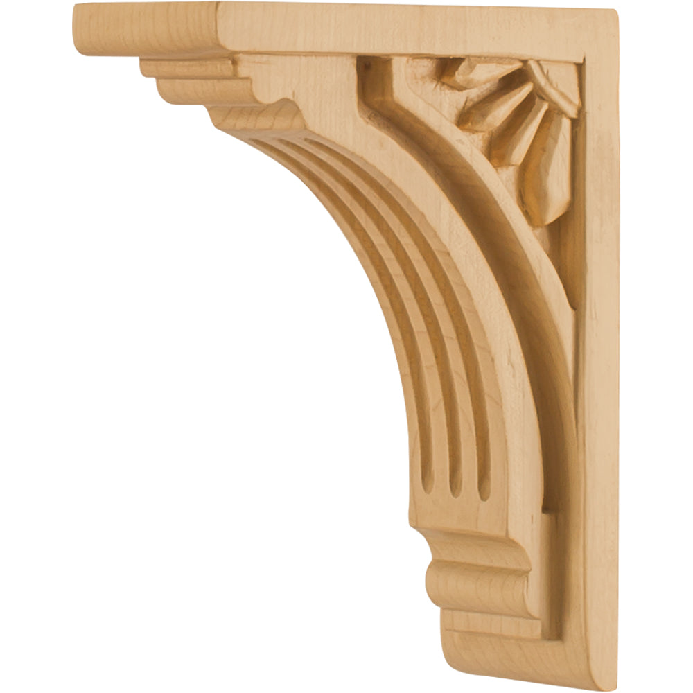 Art Deco Corbel-Unfinished (Hard Maple)