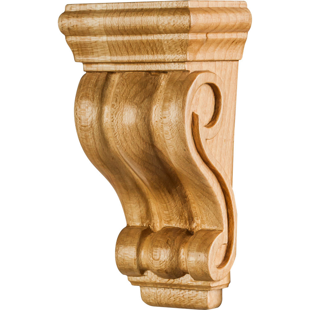 Low Profile Traditional Corbel-Unfinished (Rubberwood)