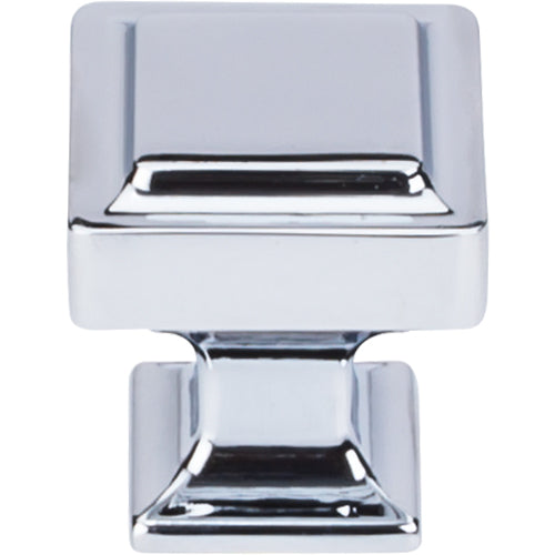 Ascendra Knob 1 1/8in.  Polished Chrome