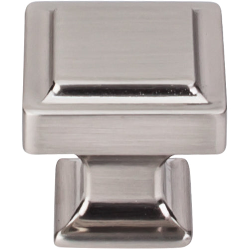 Ascendra Knob 1 1/4in.  Brushed Satin Nickel