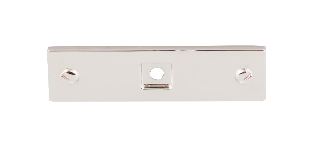 Channing Backplate 3in.  Polished Nickel