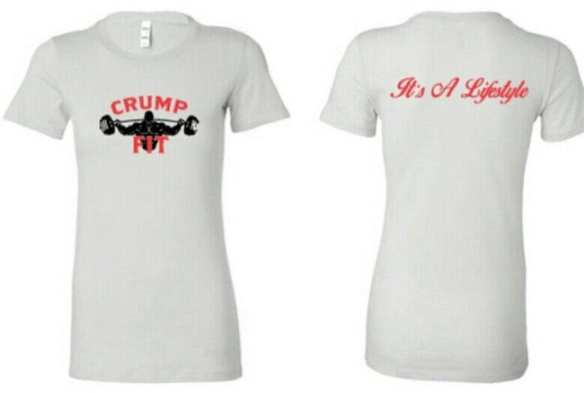 CRUMP FIT Tee - White