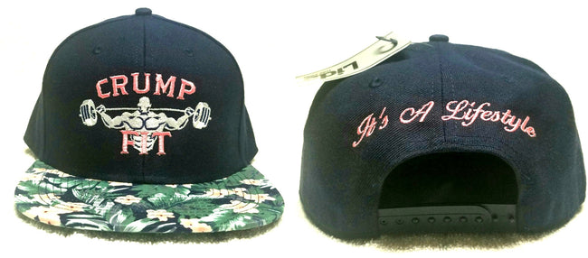 CRUMP FIT Exclusive FLORAL Snapback - Navy