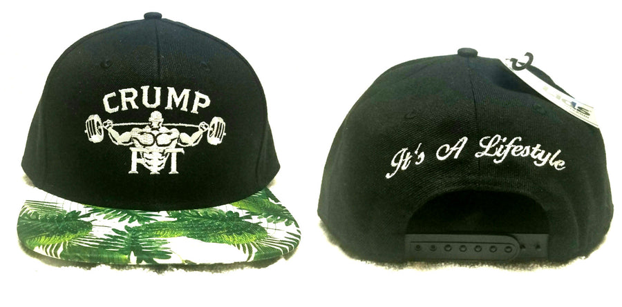 CRUMP FIT Exclusive SPRING SUMMER VIBE Snapback - Black