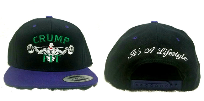 CRUMP FIT Exclusive Snapback - Black/Purple