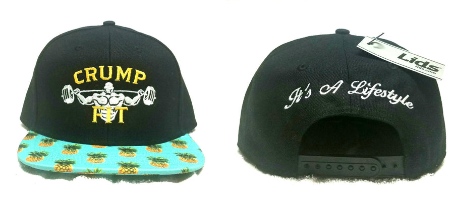 CRUMP FIT Exclusive PINEAPPLE Snapback - Black
