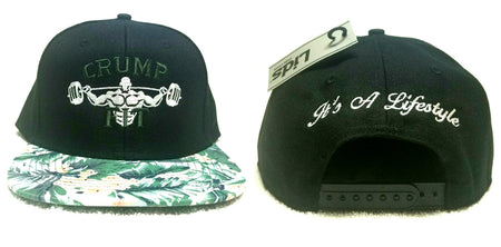 CRUMP FIT Exclusive FLORAL Snapback - Black