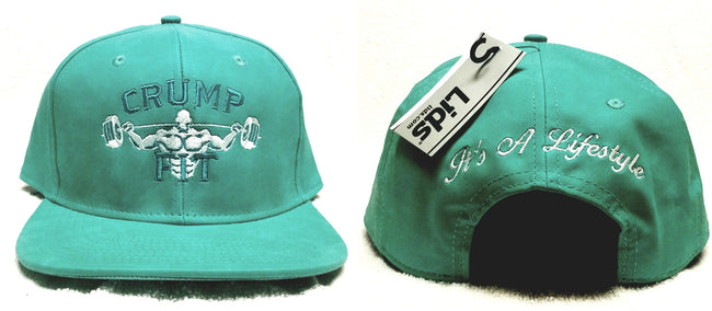 CRUMP FIT Exclusive Snapback - Turquoise