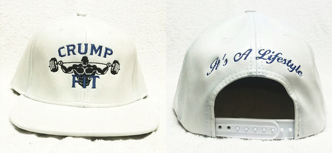 CRUMP FIT Exclusive Snapback - White Blue Tint
