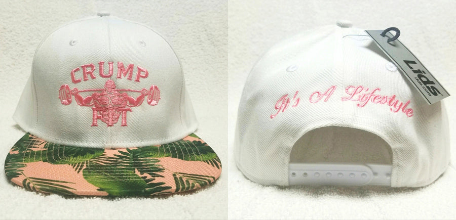 CRUMP FIT Exclusive SPRING SUMMER VIBE Snapback - White