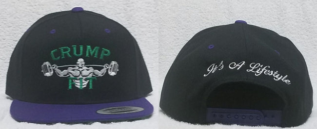 CRUMP FIT Exclusive Snapback - Black Purple