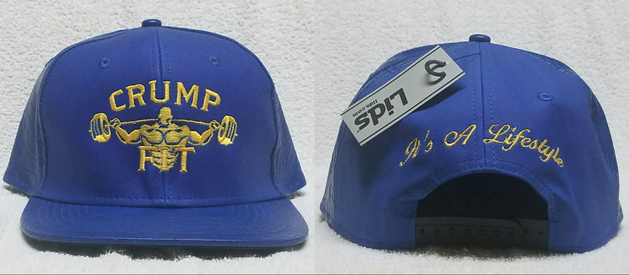 CRUMP FIT Exclusive GOLDEN STATE Snapback - Royal Blue
