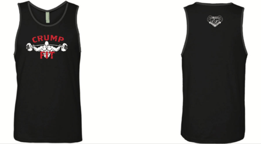 CRUMP FIT Tank - Black/Red