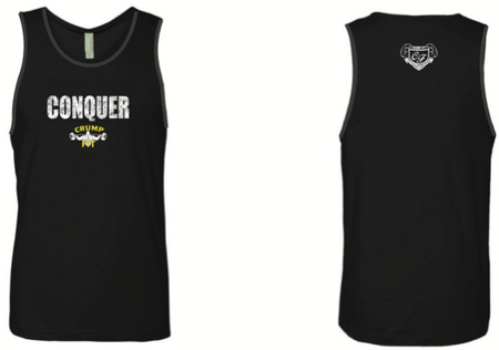 CRUMP FIT CONQUER Tank - Black