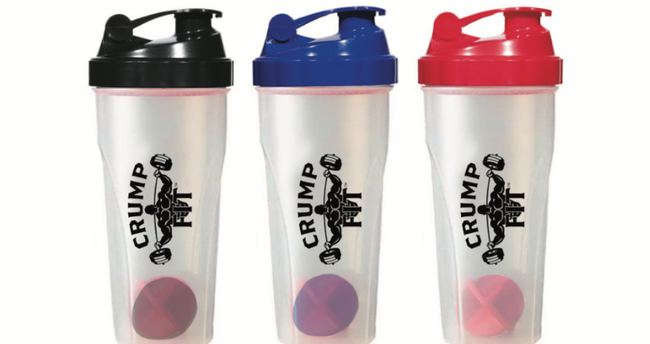 CRUMP FIT Shaker Bottle 24 oz