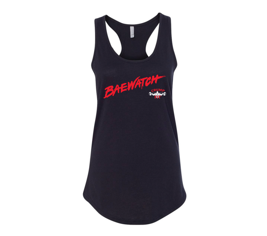 CRUMP FIT BAEWATCH Tank - Black