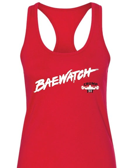 CRUMP FIT BAEWATCH Tank - Red