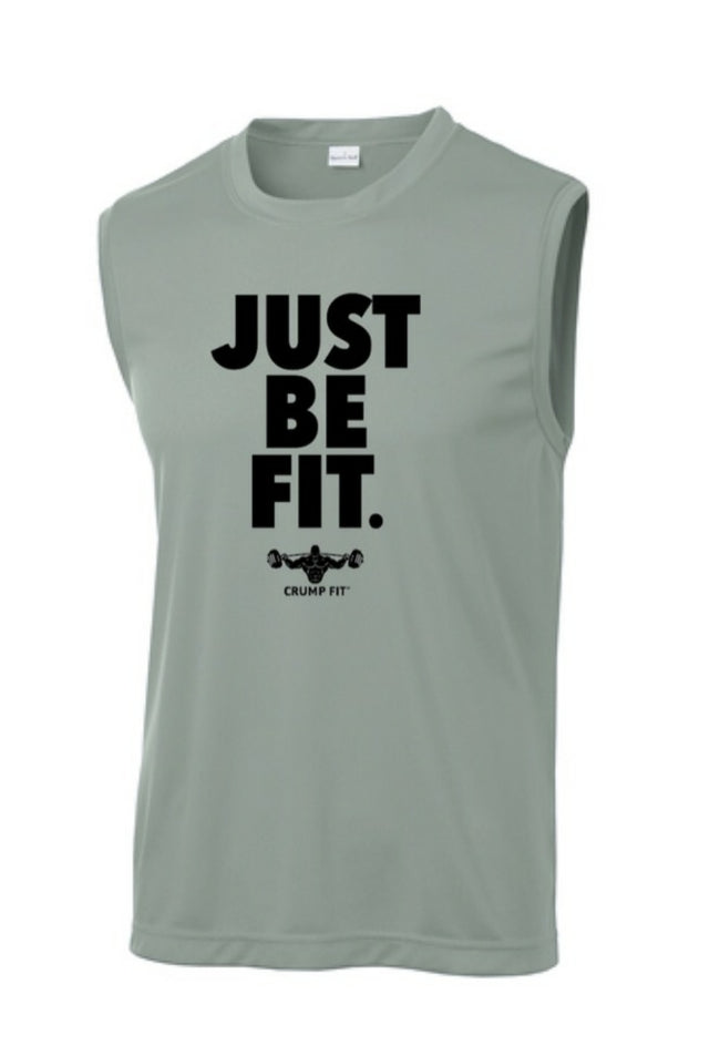 CF JUST BE FIT. Performance Tee - Grey/Black