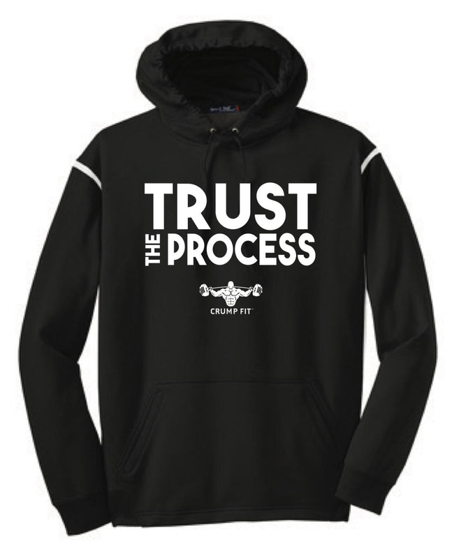 CF TRUST THE PROCESS Hooded Pullover - Black/White