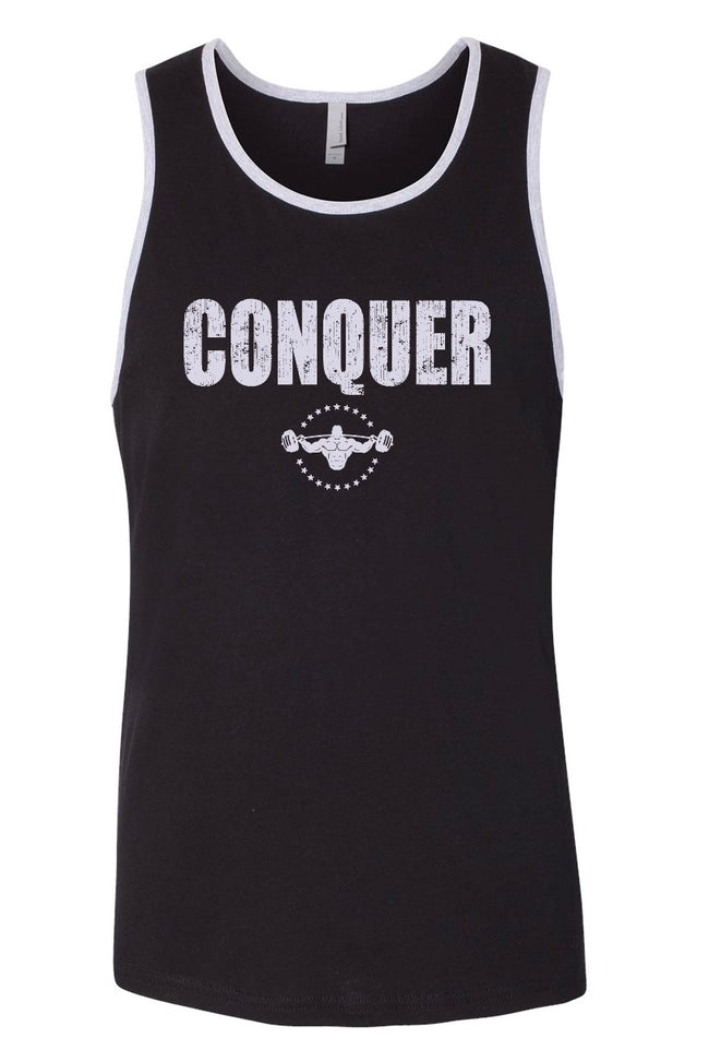 CRUMPFIT FIT CONQUER TANK - Black/Gray