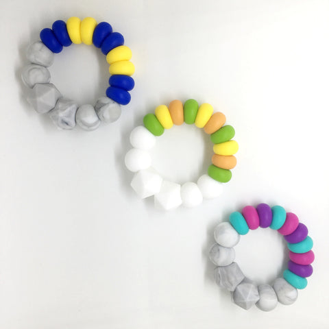 Kaleidoscopic ABACUS teether