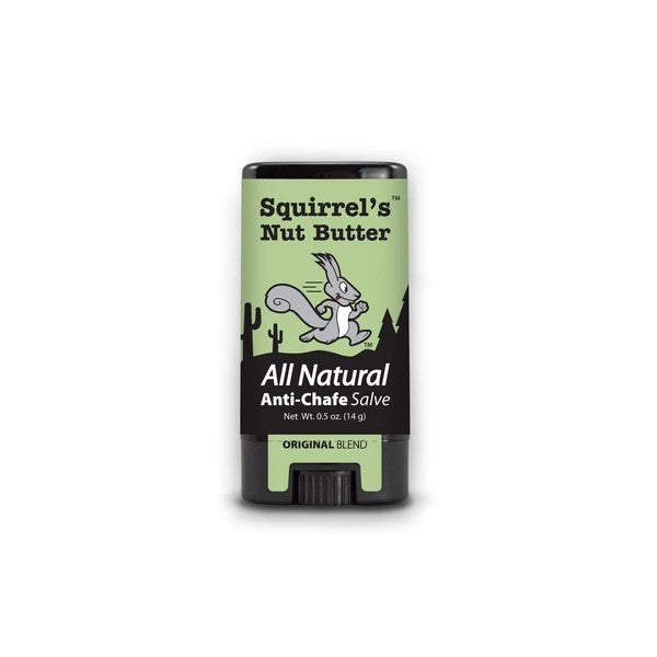 Squirrel's Nut Butter All Natural Anti Chafe Salve - 0.5oz Stick