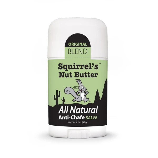 Squirrel's Nut Butter All Natural Anti Chafe Salve - 1.7oz Stick