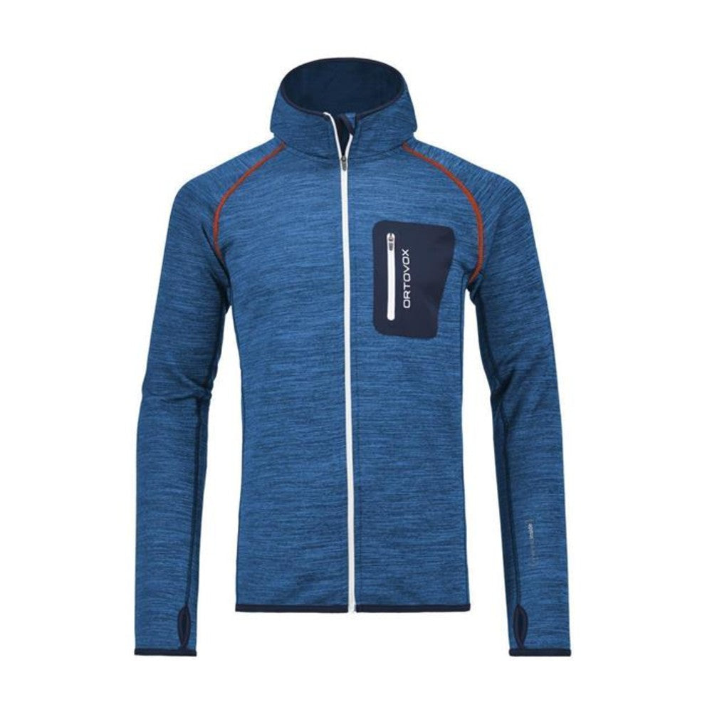 Fleece Melange Hoody, Men's