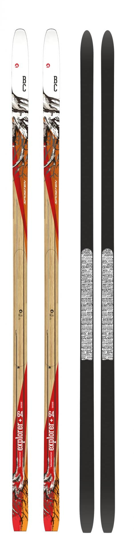 Sporten Skis Backcountry Explorer+ w Skin