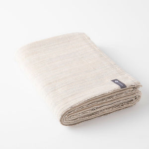 Melange Cotton Yoga Blanket