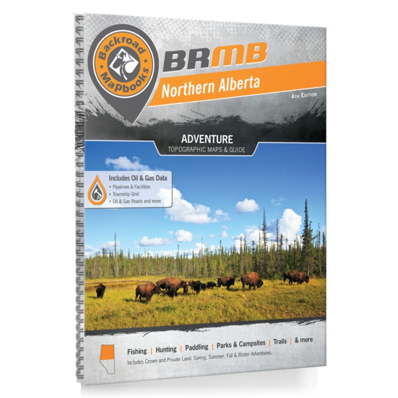 Backroad Mapbook: Northern Alberta, 4th Edition
