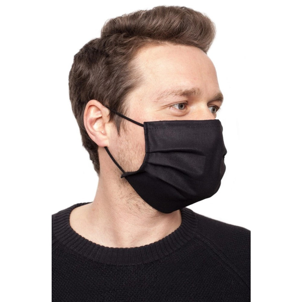 Brubeck Reusable Protective Face Mask, Black